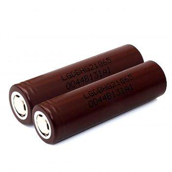LG HG2 18650 3000mAh 20A (2-pack) Vape Drive