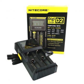 Nitecore D2 Charger Vape Drive