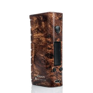 SMY SDNA 75W TC Box Mod Wood Vape Drive