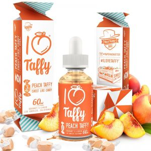 Mad Hatter E-Juice I Love Taffy 60ml Vape Drive