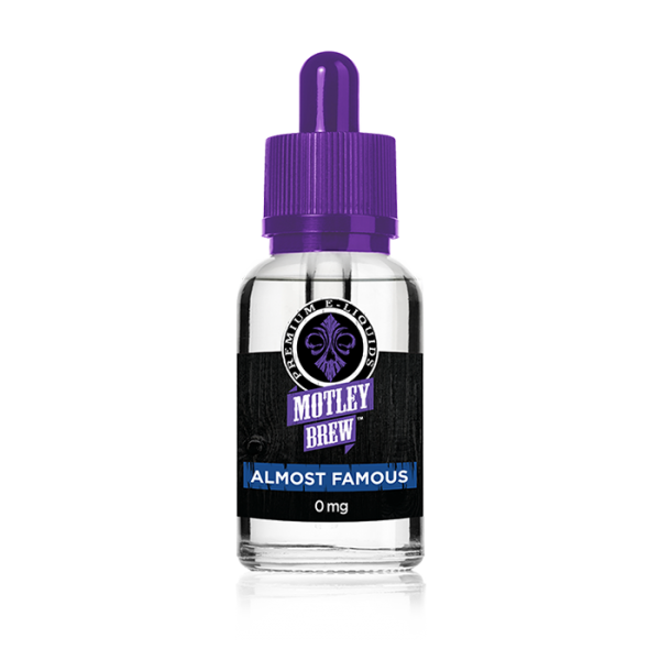 Motley Brew Almost Famous Vape Drive