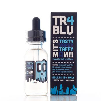 Taffy Man E-Juice Tr4 Blu Vape Drive