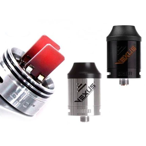 Sigelei Vexus - Coilless RDA - Future of vaping - vapedrive com
