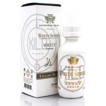 Kilo E-Juice White Series E-Liquids Cinnamon Roll 60ml