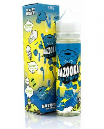 Bazooka Vape Raspberry Sour Straws 60ml