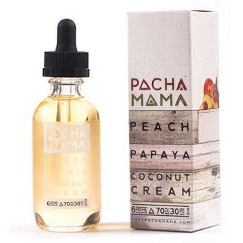 Pachamama Peach Papaya Coconut Cream 60ml