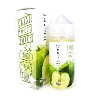 Skwezed E-Liquid Green Apple 100ml