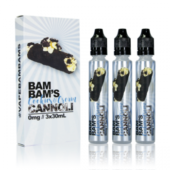 Bam Bams Cannoli Cookies and Cream Cannoli 90ml