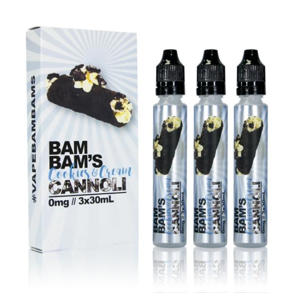 Bam Bams Cannoli Cookies and Cream Cannoli 90ml