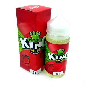 Candy King Belts Strawberry 100ml
