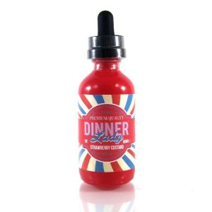 Dinner Lady Strawberry Custard 60ml