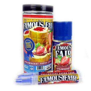 Famous Fair Strawberry Pound Cake 100ml