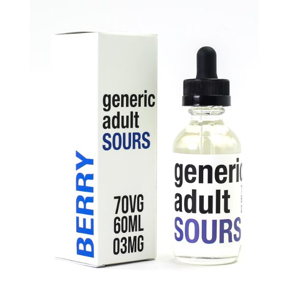 Generic Adult Sours Berry 60ml