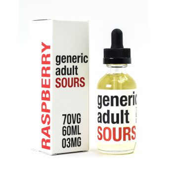 Generic Adult Sours Raspberry 60ml