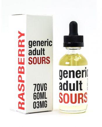 Generic Adult Sours Raspberry 60ml