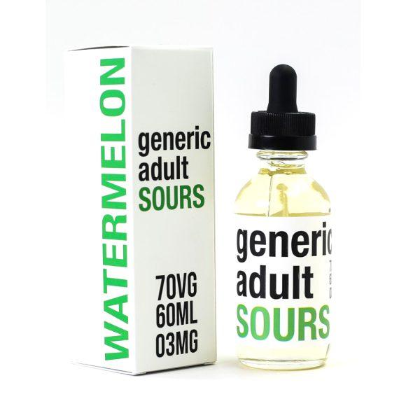 Generic Adult Sours Watermelon 60ml