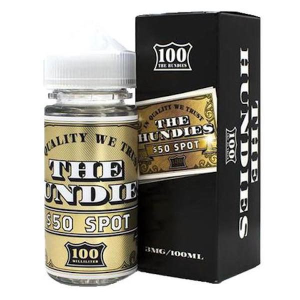 The Hundies E-Liquid 50 Spot 100ml