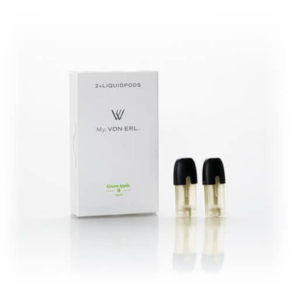 Von Erl Liquidpod Green Apple Pods