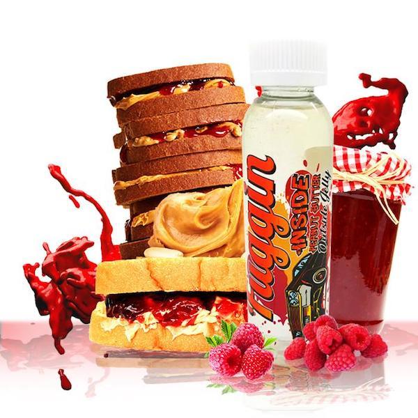 Fuggin E juice Inside Peanut Butter Outside Jelly 120ml