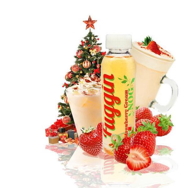 Fuggin E juice Strawberry Cream Nog 120ml