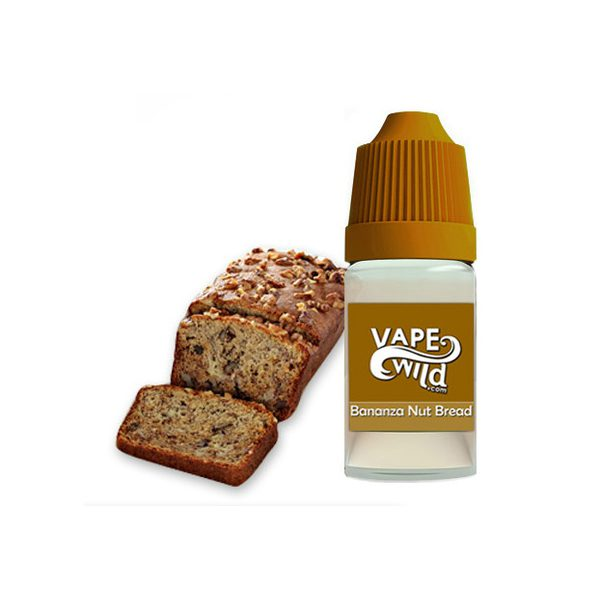 Vapewild Bananza Nut Bread E-juice 10ml