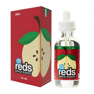 7 Daze Reds Apple Iced 60ml