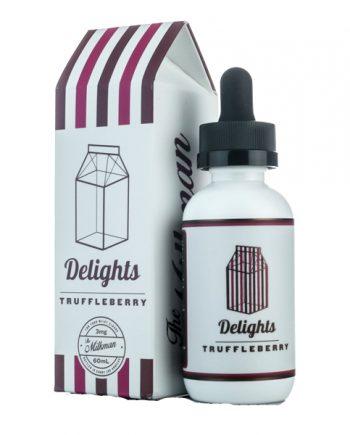 The Milkman Delights E-Juice Truffleberry 60ml