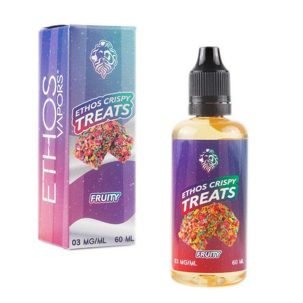 Ethos Vapors Fruity Crispy Treats 60ml