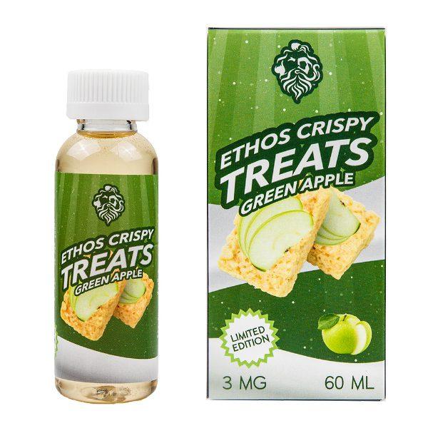 Ethos Vapors Green Apple Crispy Treats 60ml