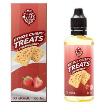 Ethos Vapors Strawberry Crispy Treats 60ml