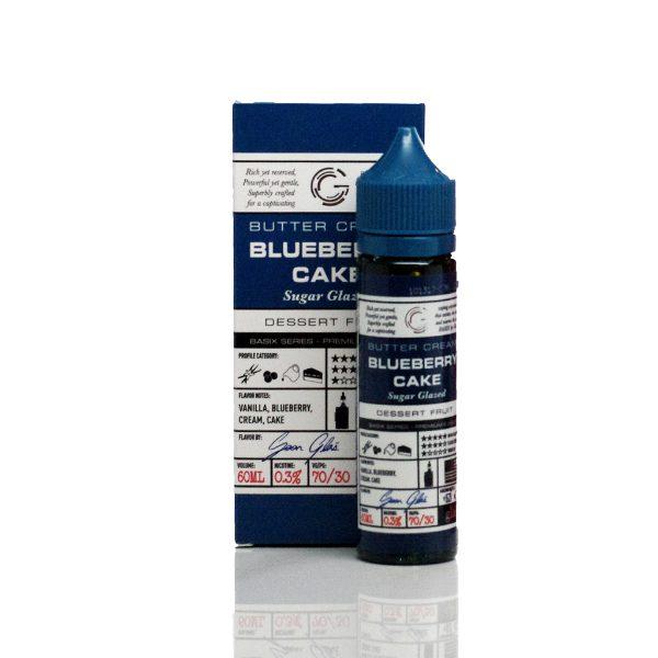 Glas Basix E-Liquid Blueberry Cake 60ml