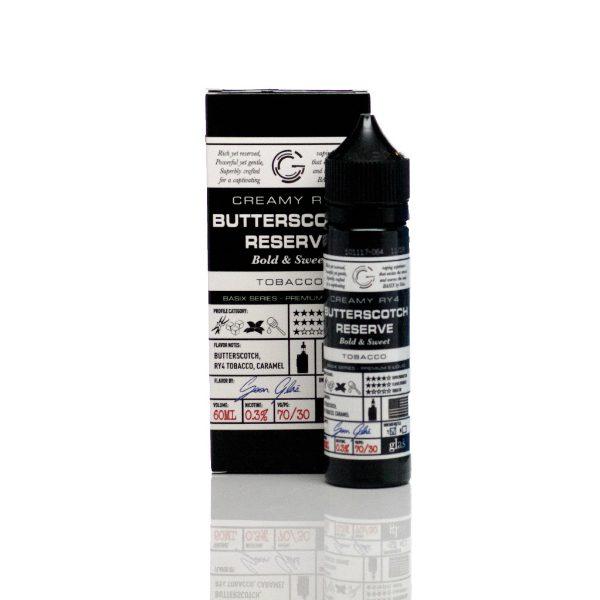 Glas Basix E-Liquid Butterscotch Reserve 60ml