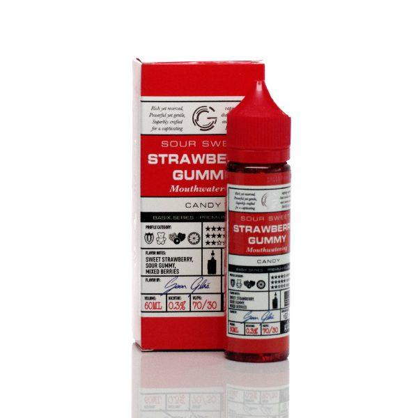 Glas Basix E-Liquid Strawberry Gummy 60ml