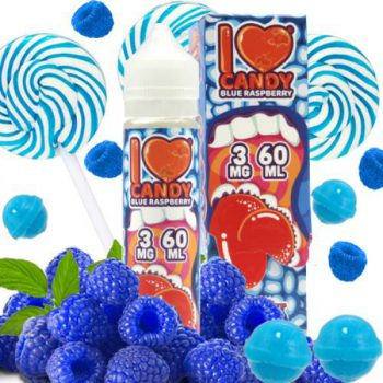 Mad Hatter I Love Candy Blue Raspberry 60ml