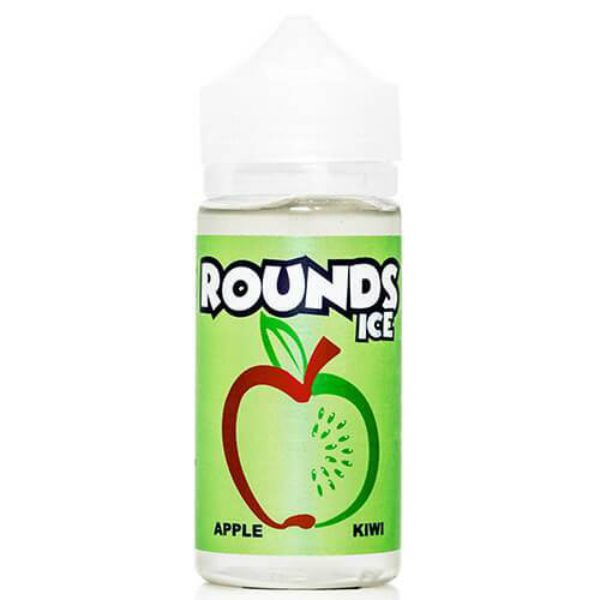 Rounds E-Liquid Apple Kiwi Ice 100ml
