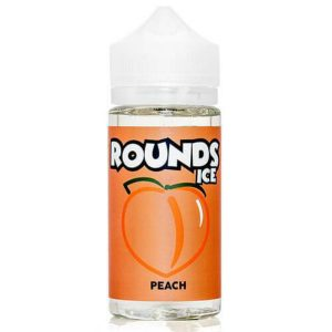 Rounds E-Liquid Peach Ice 100ml