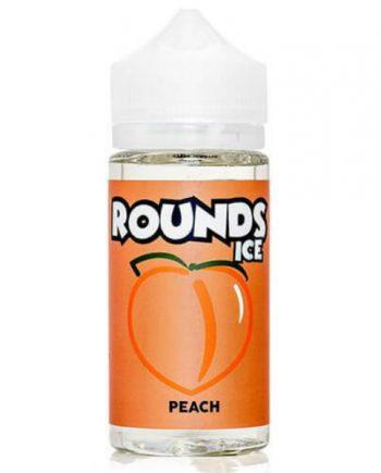 Rounds E-Liquid Peach Ice 100ml