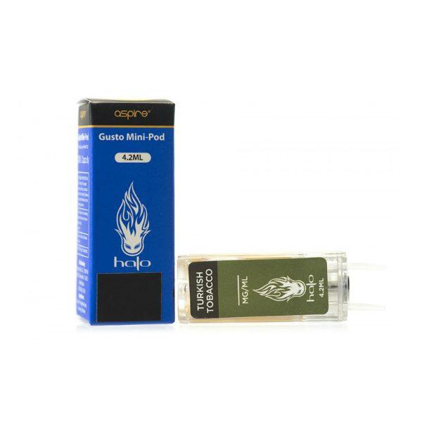 Aspire Gusto Mini Pods Halo Turkish Tobacco