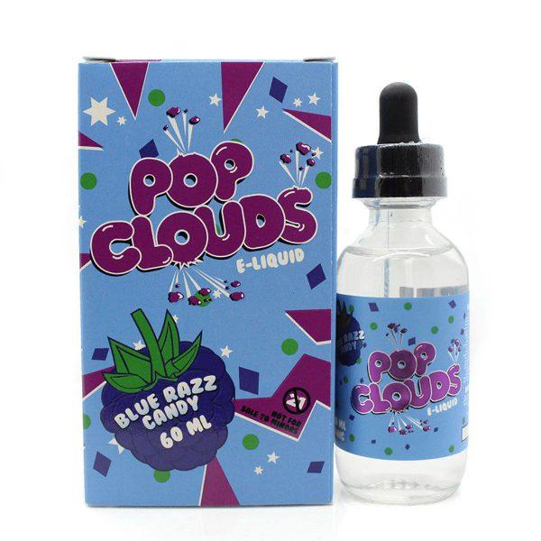 Pop Clouds Blue Razz Candy 60ml