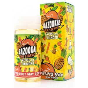 Bazooka Tropical Thunder Pineapple Peach 100ml