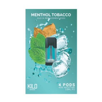 Kilo 1K Menthol Tobacco Pods