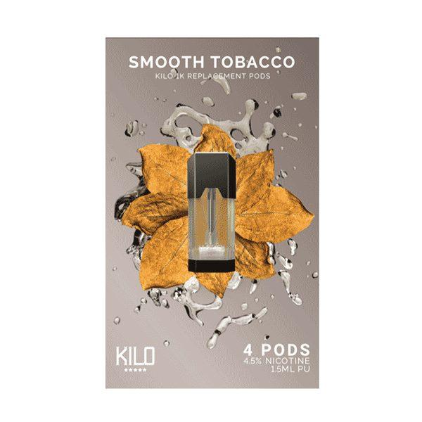 Kilo 1K Smooth Tobacco Pods