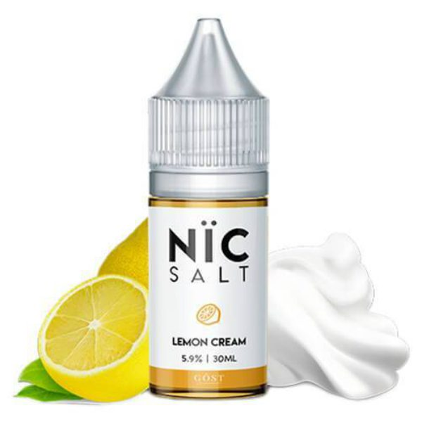 Nic Salt Gost Vapor Lemon Cream 30ml