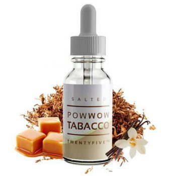 Salt Drops Salted Pow Wow Tobacco 30ml