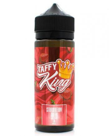 Taffy King Strawberry Taffy 120ml