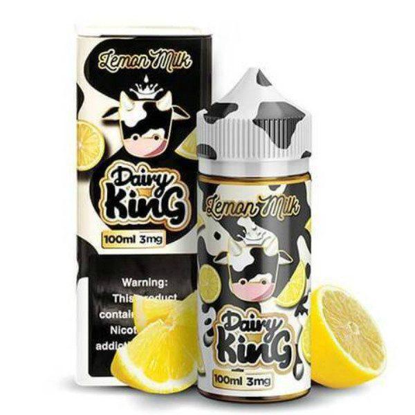 Dairy King Eliquid Lemon Milk 100ml