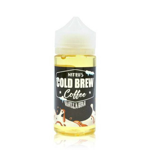 Nitro's Cold Brew Coffee Vape Juice - Vanilla Bean - 100ml