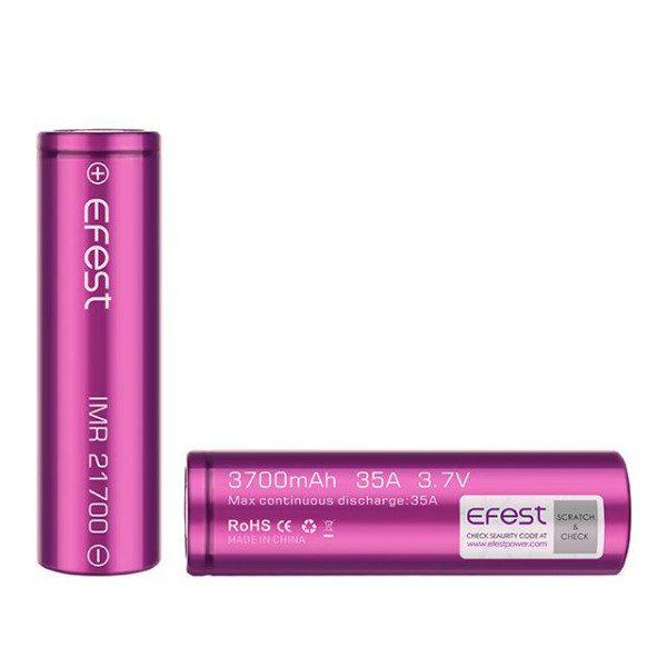 Efest 21700 Battery 35A 3700mAh