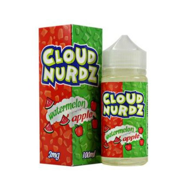 Cloud Nurdz Watermelon Apple 100ml