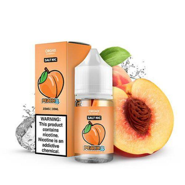 Orgnx E-Liquid Salts Peach Ice 30ml
